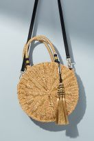 straw bag tassel