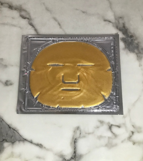 Bliss Gold face mask